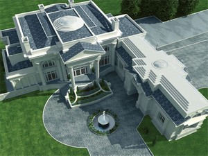 Birds Eye View by DFD House Plans